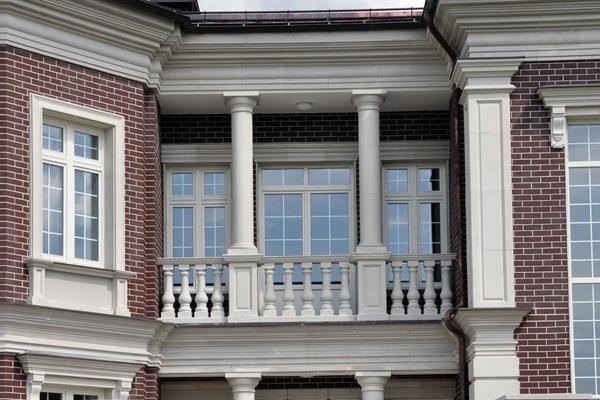 частный дом фасад