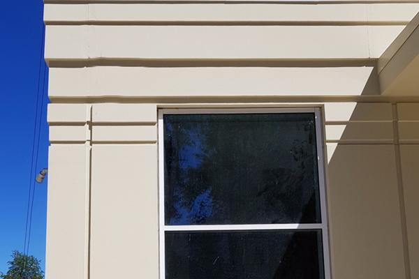 фасад из полимербетона
