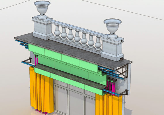 проектирование фасадного декора