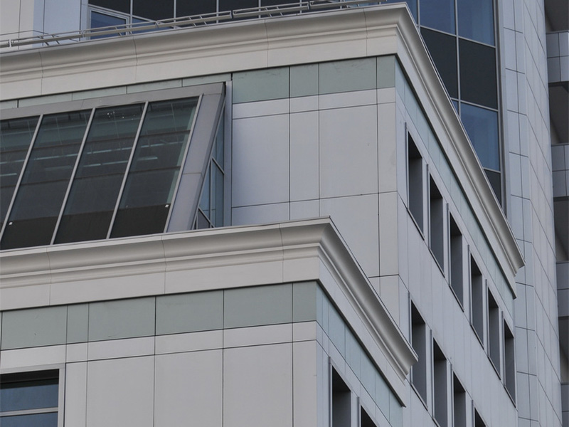 Декоративная отделка фасада