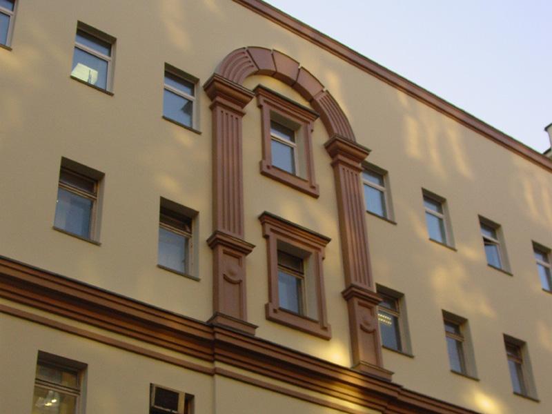 Элементы фасада
