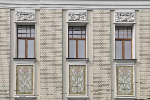 Архитектурный декор здания