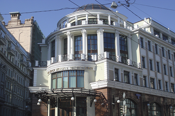 Архитектурный декор фасада