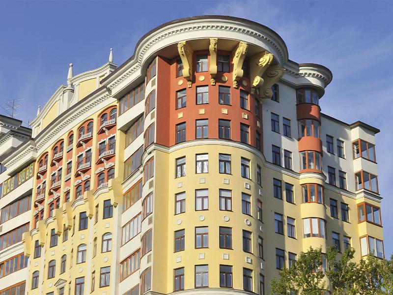 Отделка жилого комплекса