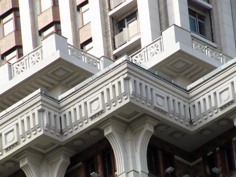 Стеклопластиковые элементы фасада