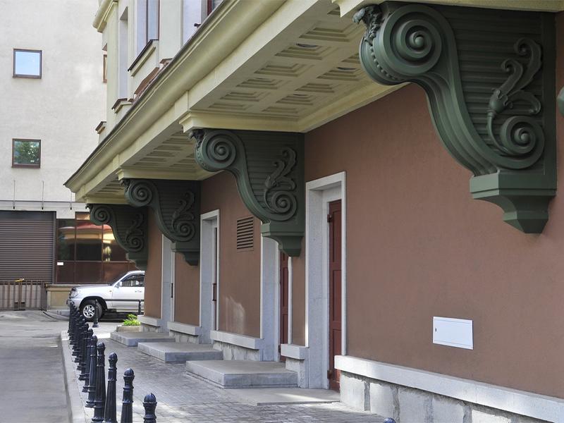 Жилой дом в Хлыновском тупике
