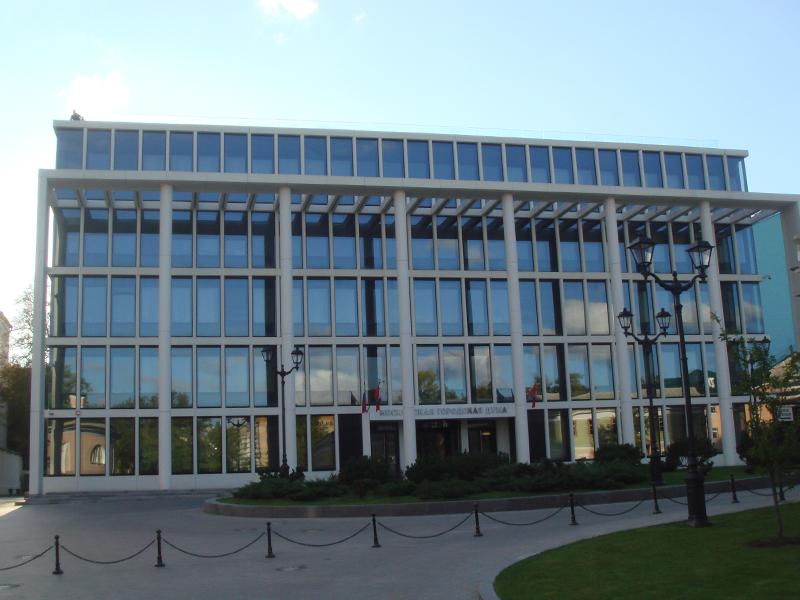 Фасад из архитектурного бетона