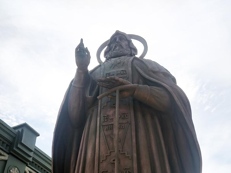 Скульптура Преподобного Сергия Радонежского
