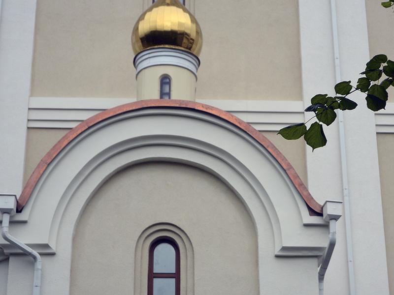 Храм блаженной Матроны