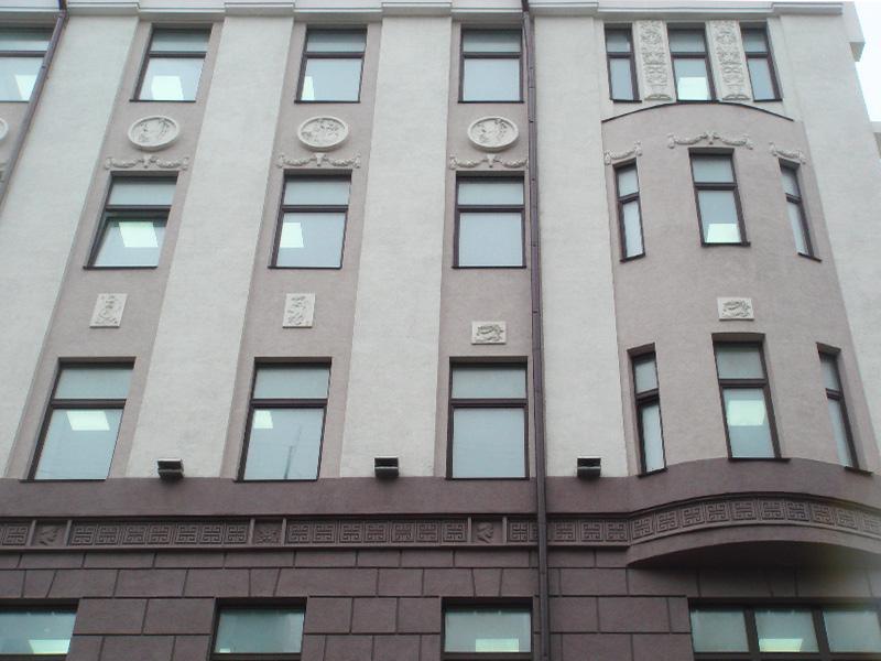 Элементы декоративного оформления фасада