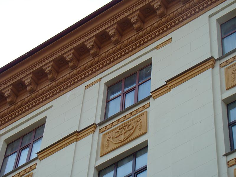 Реставрация фасадного декора