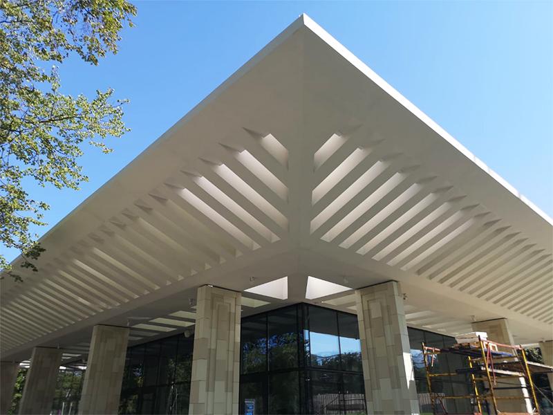 Фасадные конструкции из стеклопластика