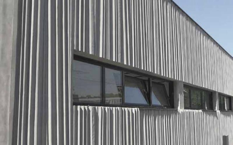 Структурные матрицы на фасадах
